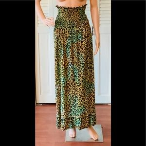 VINTAGE🌺Fun and Easy Skirt!🌺Slip On Style! EUC